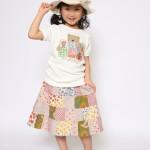 子供服モデル 女の子 110cm Tシャツ