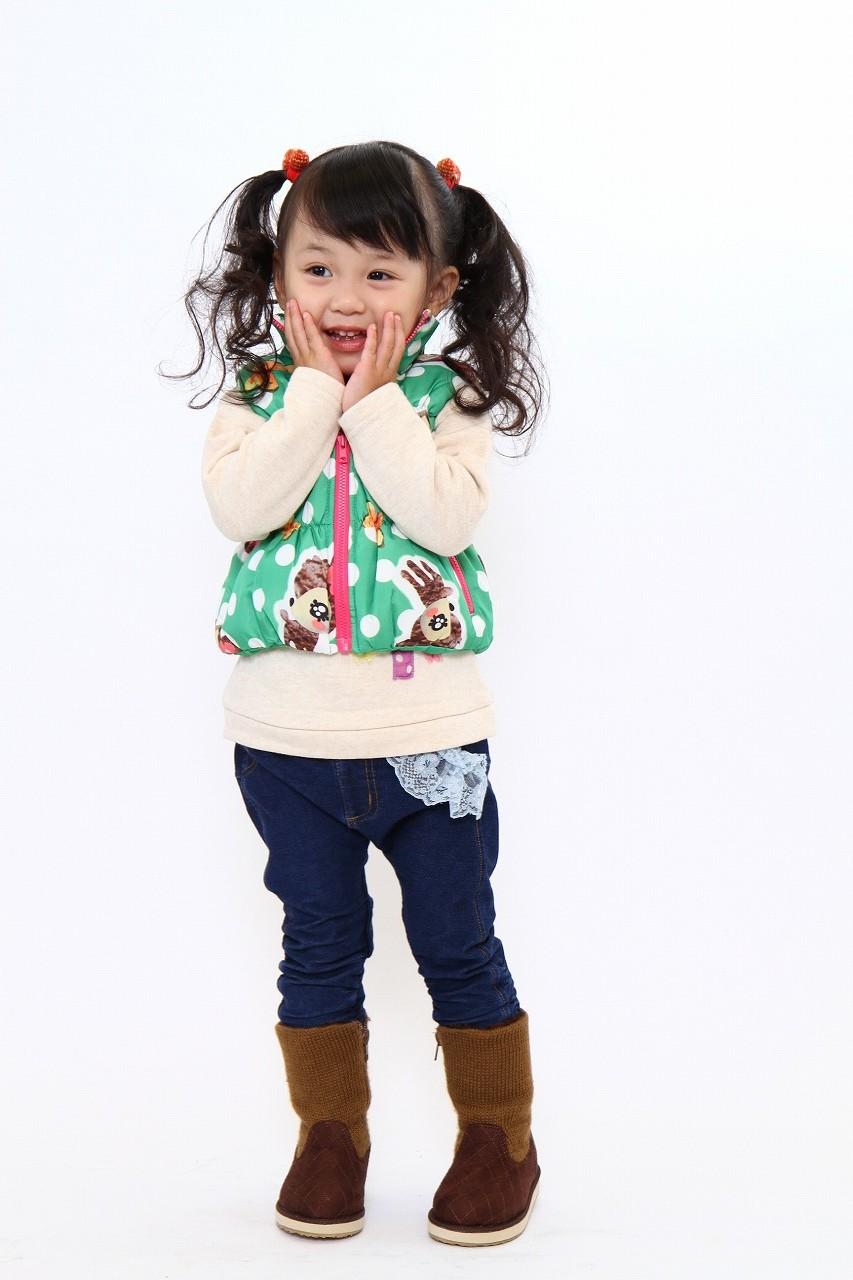 可愛い♪子供服での写真撮影