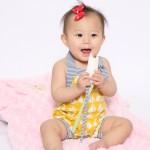 ベビーモデル撮影 女の子の赤ちゃん