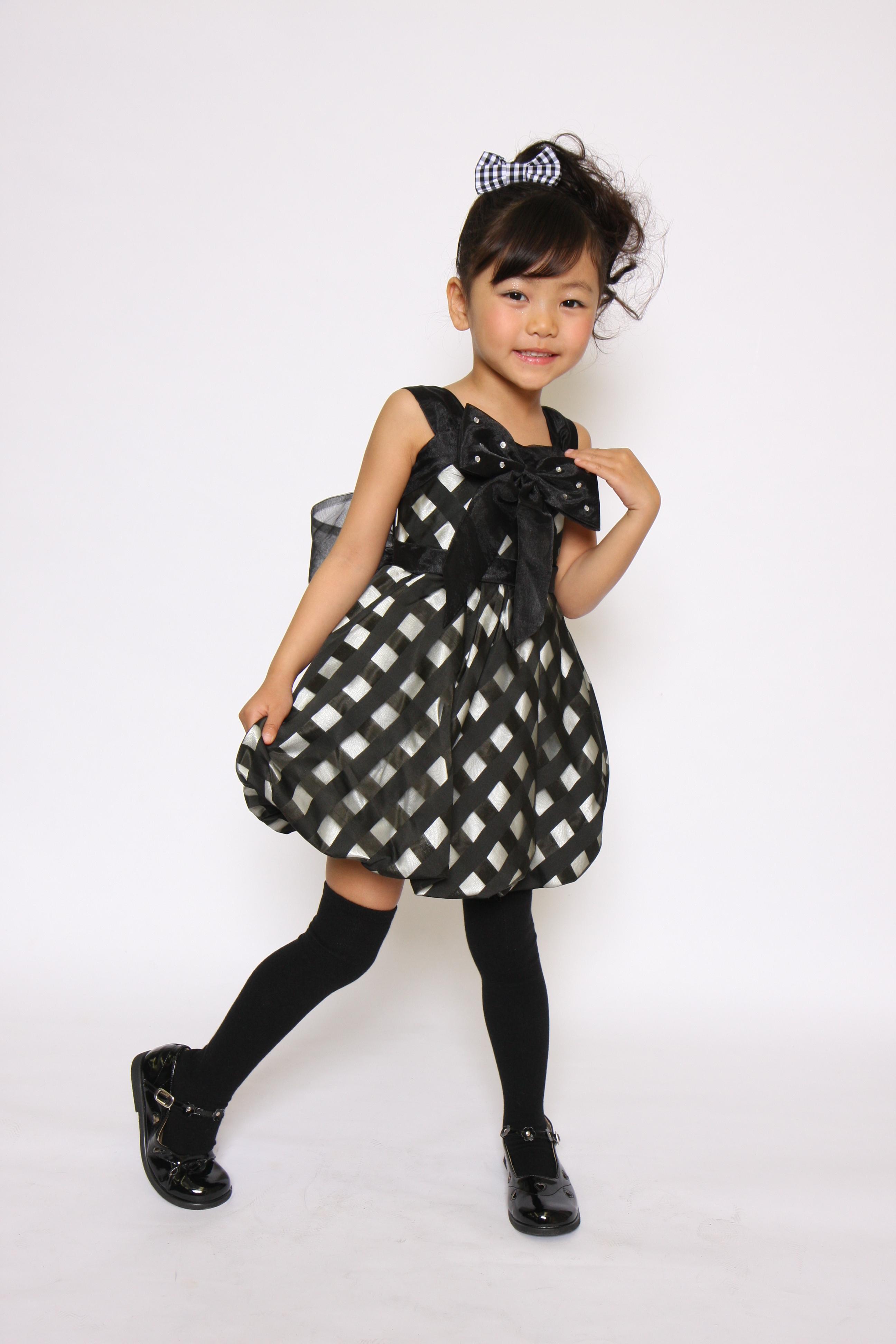 キッズモデル 子供ドレスで撮影♪