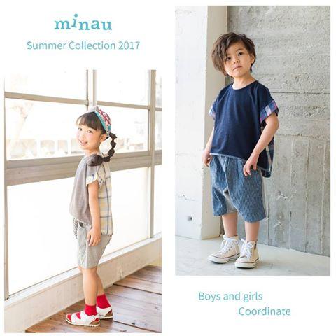 子供服カタログ minau